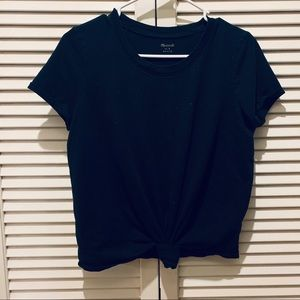 Tie-front t-shirt by Madewell